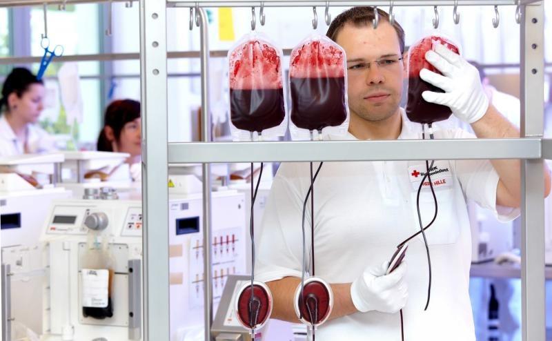 Blutspenden auch im Lockdown