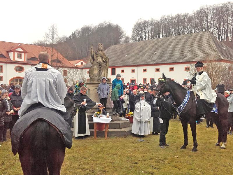 Ostersaatreiten in Ostritz unter Ausschluss der Öffentlichkeit