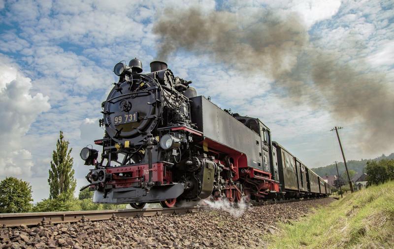 Fotograf im Dienst  der Zittauer Schmalspurbahn