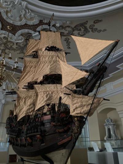 """Segelschiff """"Chartilla"""" wieder in der Zittauer Wunderkammer"""