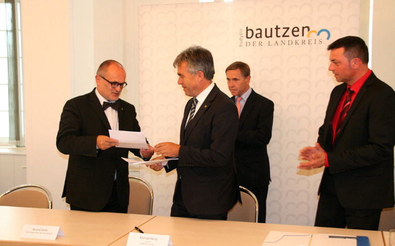 Schulsanierung in Kamenz besiegelt