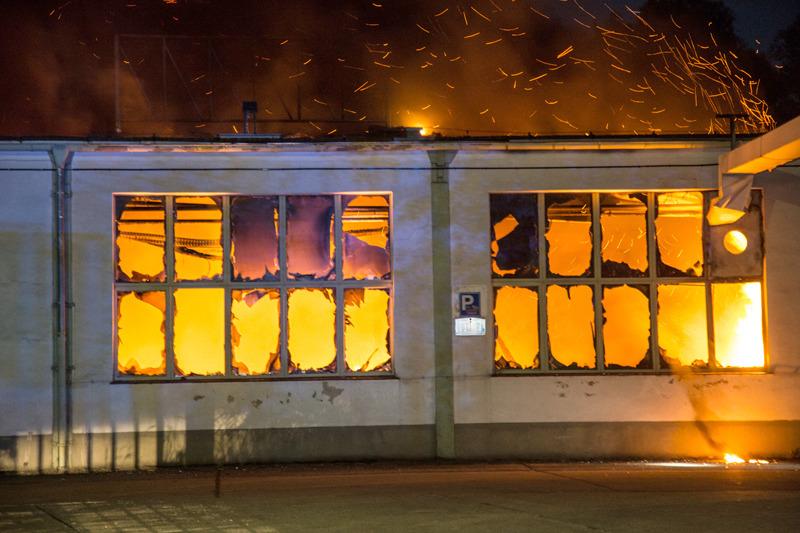 Großbrand in Pulsnitz