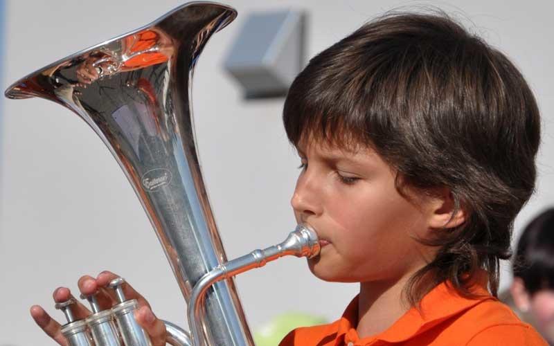 Schnuppern bei SZO-Juniorband