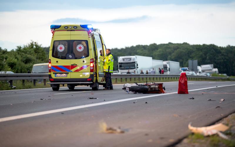 Motorradfahrer stirbt bei Unfall auf Autobahn