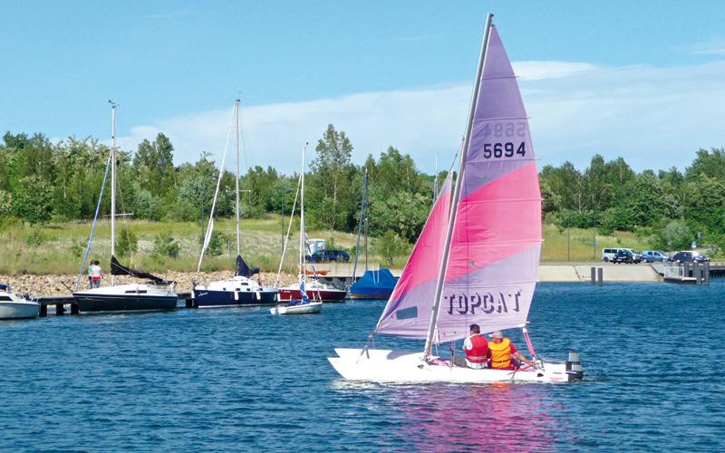 Gibt's die Schiffbarkeit auf dem Berzdorfer See erst 2018?