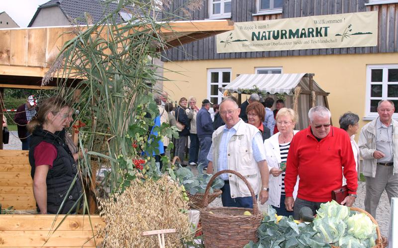 Herbstmarkt in Biosphäre