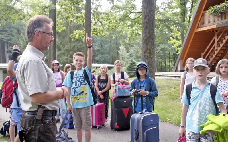 Waldschulheim: Dann sind sie kleine Förster