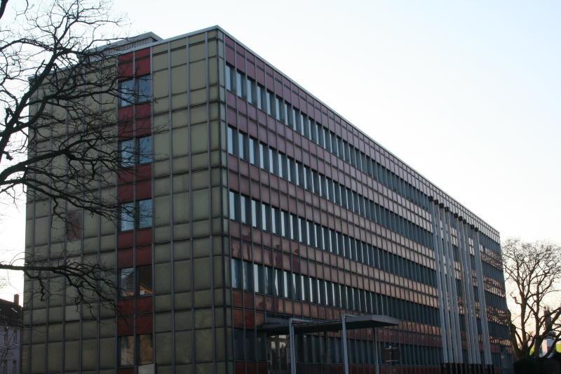 Hochschulaquarium vor dem Abriss