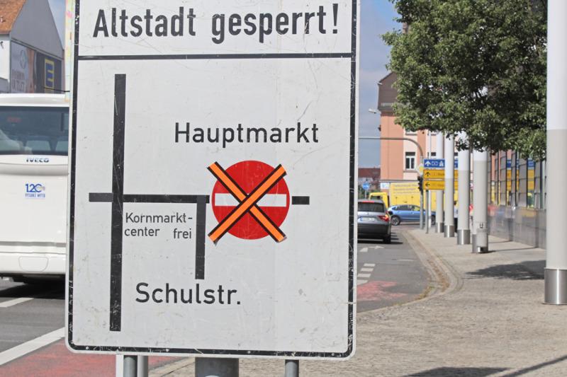 Altstadt wird am Wochenende zur autofreien Zone