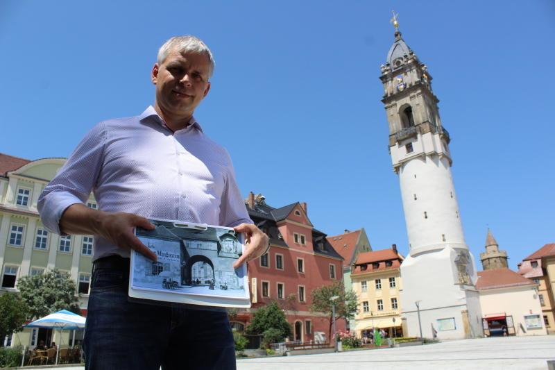 Bautzen diskutiert über möglichen Wiederaufbau des Reichentores
