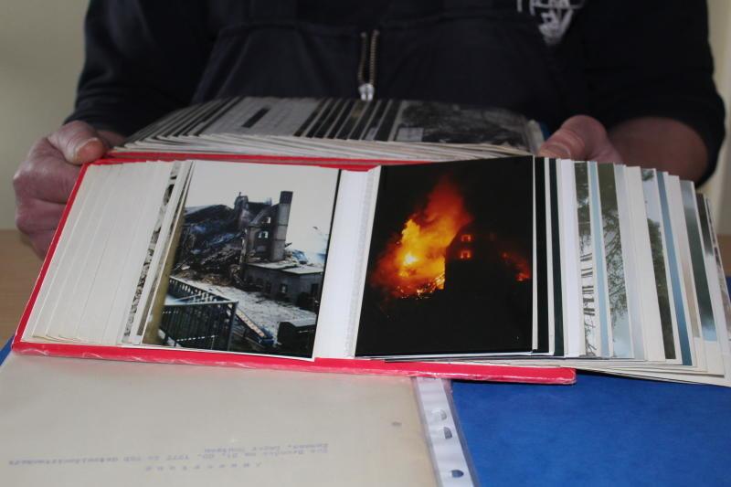 Die Flammenhölle an der Löbauer Straße