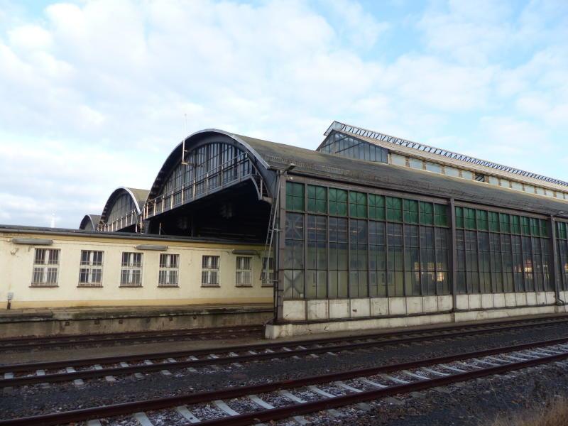 Bahnhofsdach wird erneuert