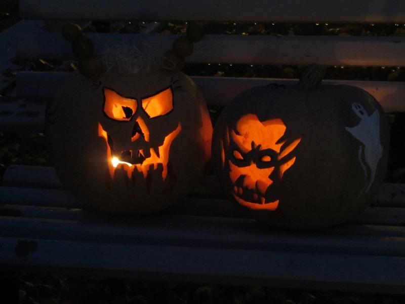 Halloween-Party im Gesundbrunnen