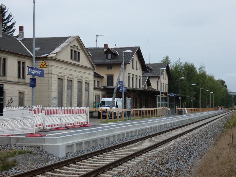 Bahnhof wird umgebaut