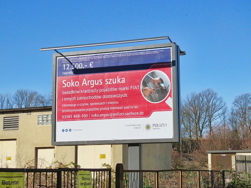 Soko Argus lobt 12.500 Euro aus