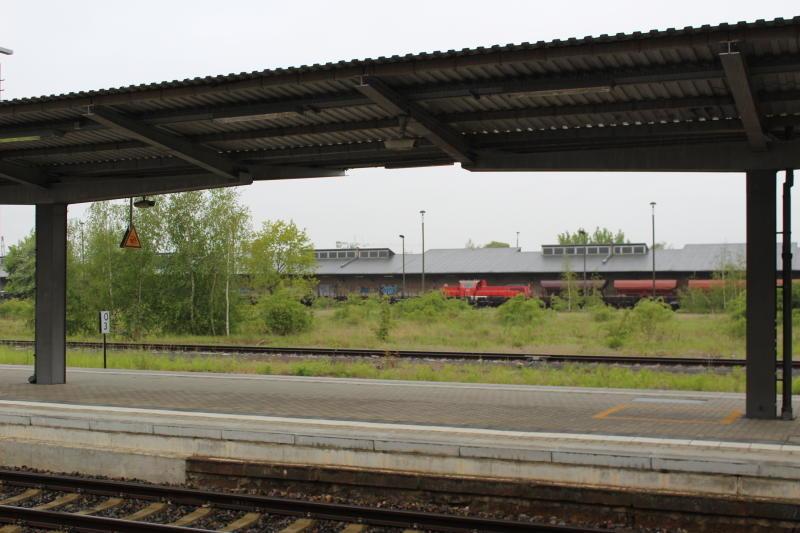 Welche Priorität hat der Güterbahnhof?