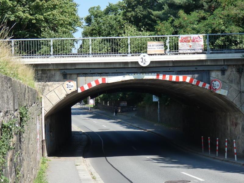 Bahnbrücke Neustädter Straße: Baubeginn im Oktober