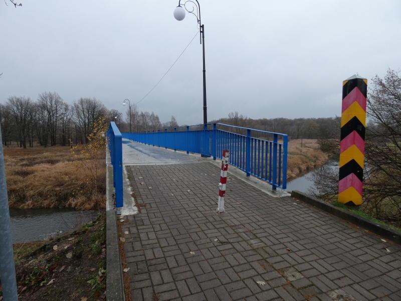 Korridor für die neue Grenzbrücke Deschka