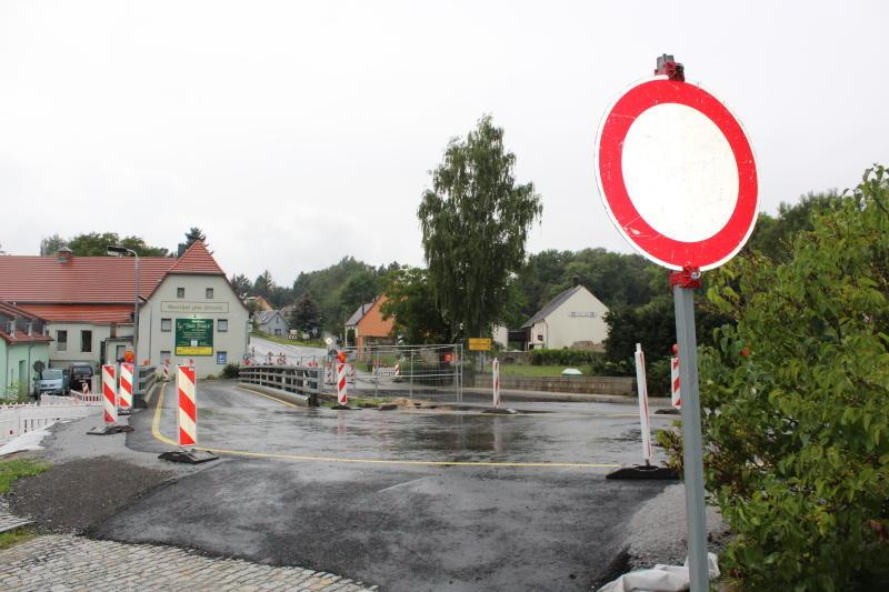Brücke verhindert pünktlichen Start