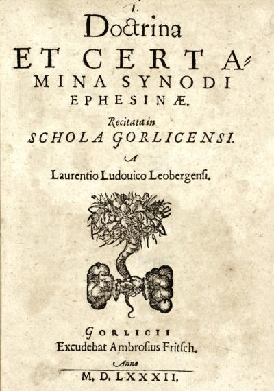 Über den ersten Buchdrucker in Görlitz