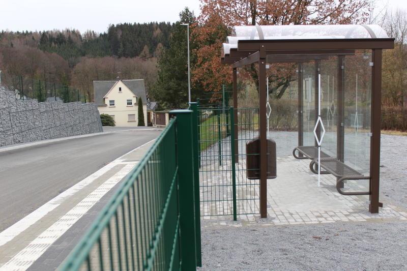 Bushaltestelle bleibt verwaist