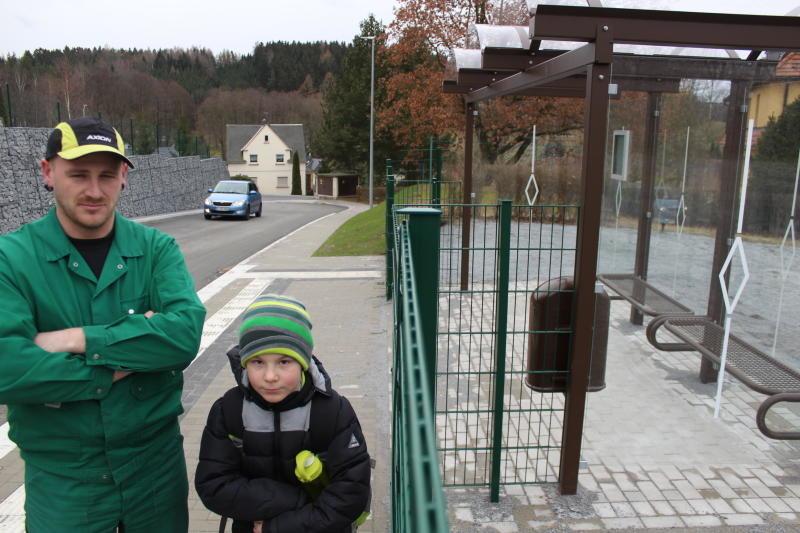 Neue Haltestelle ohne Busverkehr