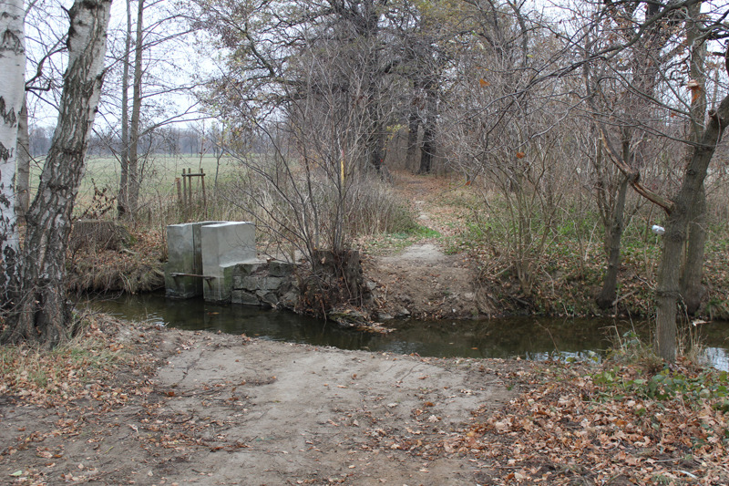 Verbindung über den Fluss gekappt