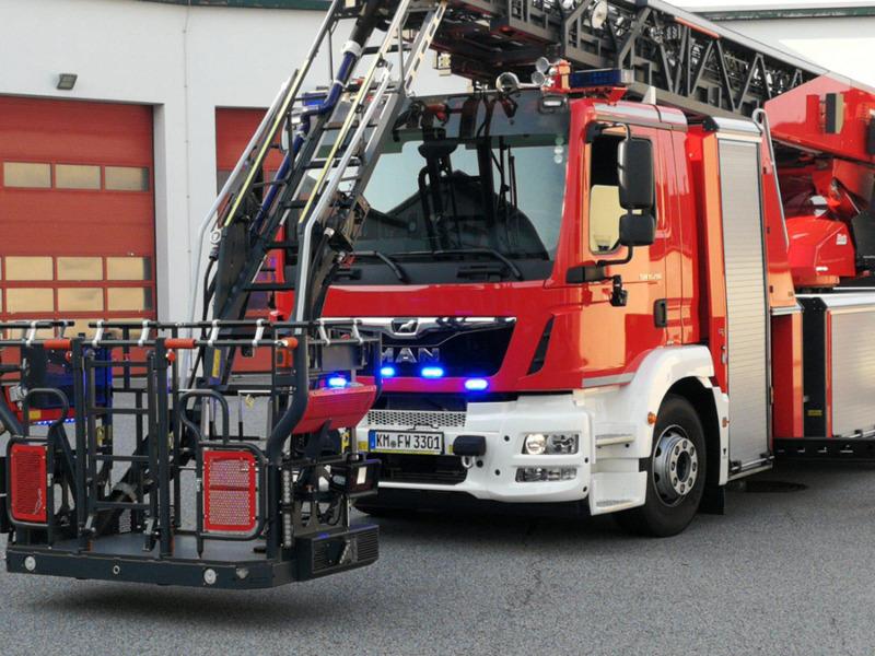 Neue Drehleiter für Feuerwehr