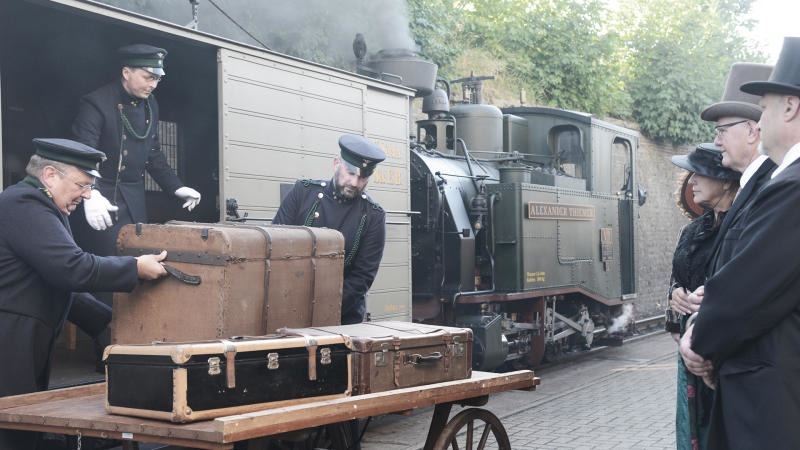 Ein Hauch von 1900 bei der Schmalspurbahn