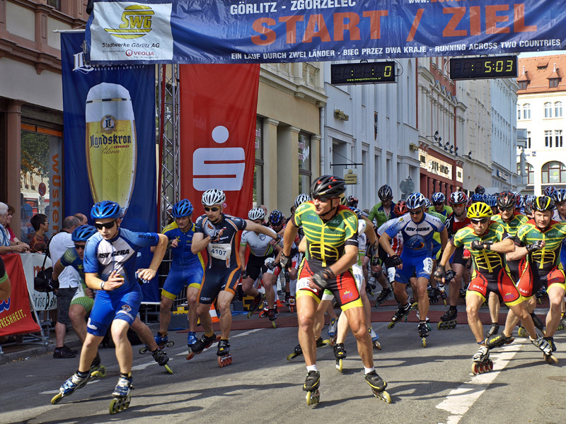 Verkehrseinschränkungen beim Europamarathon