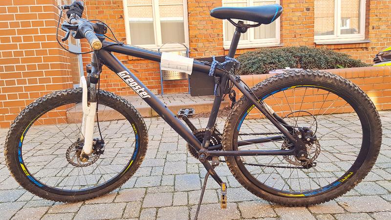 Fahrrad sichergestellt - Eigentümer gesucht