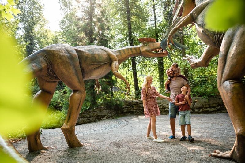 Wieder eintauchen ins Reich der Dinos