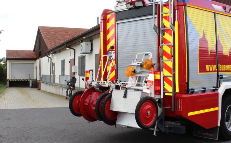 Mülltonnen brennen in Bautzen