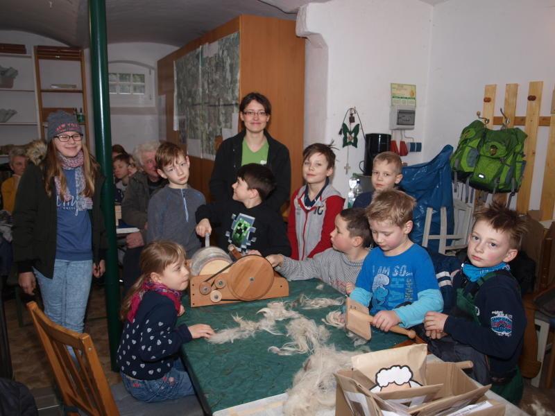 Naturschutzstation präsentiert sich auf der Grünen Woche