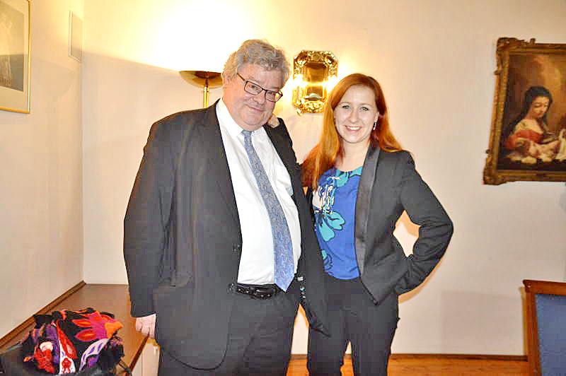 Reinhard Bütikofer besucht mit Franziska Schubert Bombardier