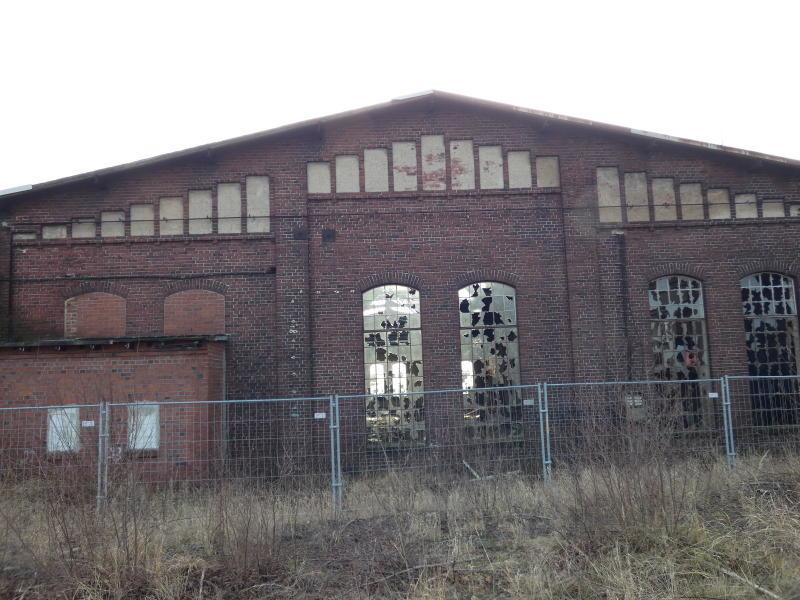 Güterbahnhof Schlauroth wird zum Gewerbegebiet