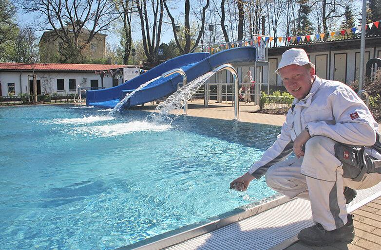 Mehr Badespaß im Löbauer Herrmannbad