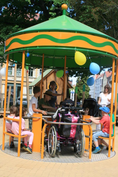 Rotation auch im Rollstuhl
