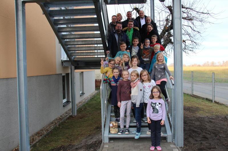 Neue Treppe für die CSB-Kita