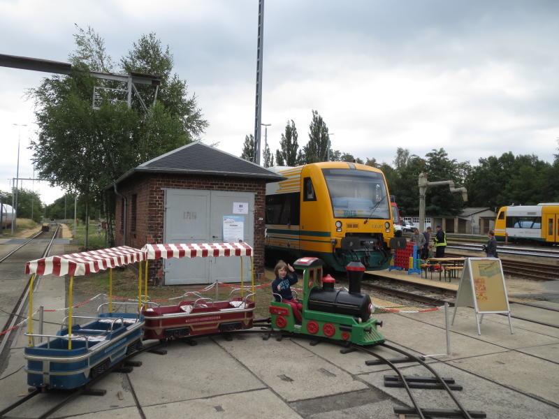 Eisenbahner gewähren Einblick