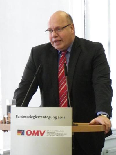 Peter Altmaier im  Kraftwerk Boxberg