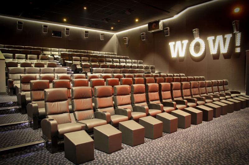 Neuer Anbau steht: In Kino 5 flimmert's über die Leinwand