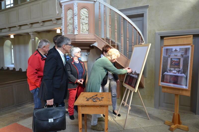 Meuselwitz erpuzzelt sich neuen Altar