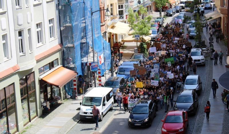 Schüler demonstrieren wieder
