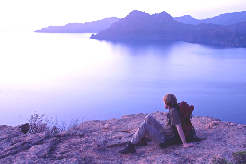 Fotograf Sven Oyen zeigt Live-Dia-Show über Korsika