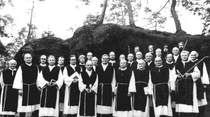 Historischer Mönchszug mit dem Bäckerchor