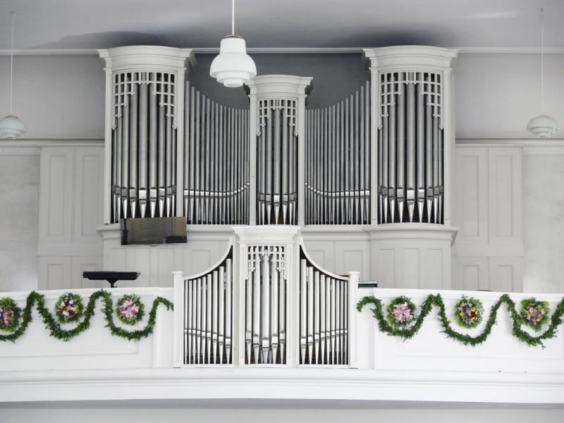 Benefizkonzert für Orgel im Kirchensaal