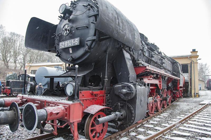 Die historische Dampflokomotive wird wiederbelebt