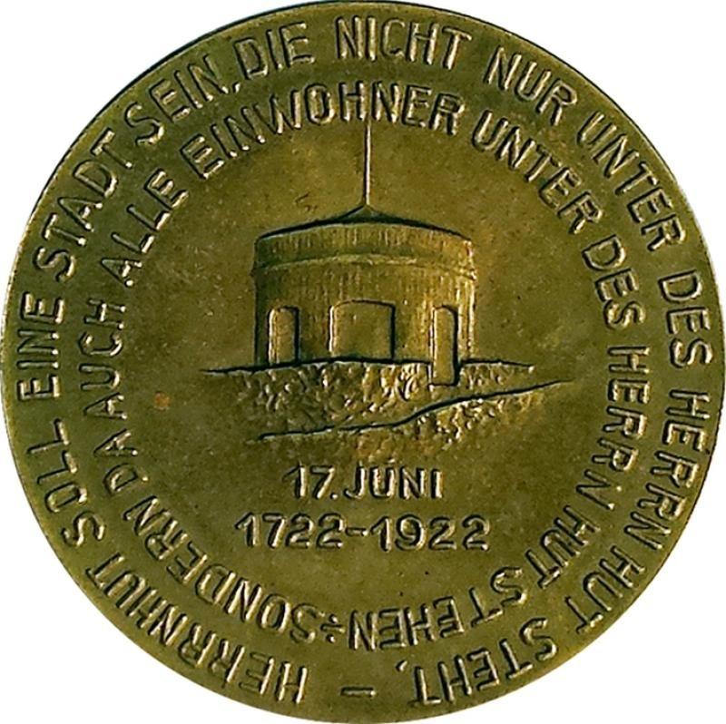 Herrnhuter  Medaillen