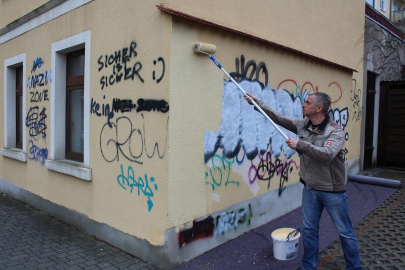 Wann tut Bautzen etwas gegen Graffitis?
